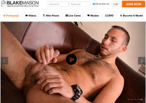 Best gay porn HD with Blake Mason productions.