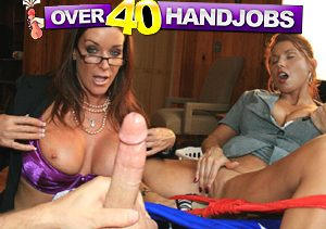 best handjob porn website with busty milfs milkin' dicks