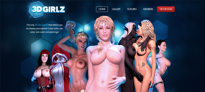 best 3d porn site focused on animated models