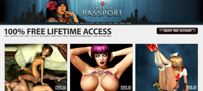 good 3d porn site where you can watch HD videos