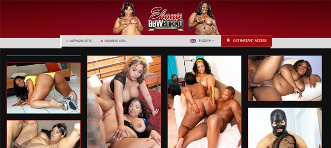 cheap bbw porn site with ebony models