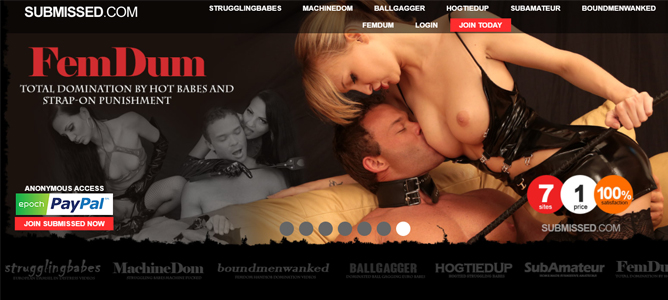 high quality bdsm porn site with fetish content