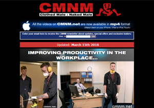 Popular gay porn site for cmnm videos.