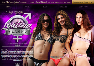 Best pay adult site for sexy latina trannies.