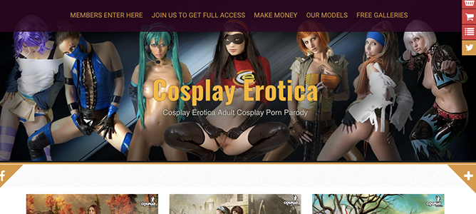 Amazing adult site to enjoy amazing cosplay material