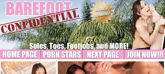 Great xxx website featuring some fine foot fetish videos