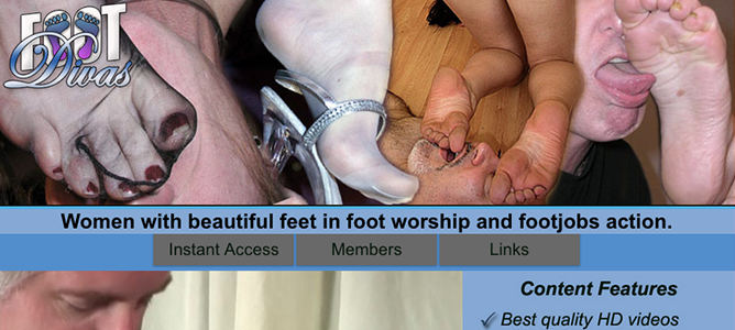 Great xxx site to get class-A foot fetish HD videos