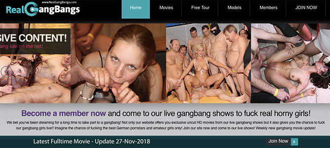 Top xxx site if you're up for stunning gangbang flicks