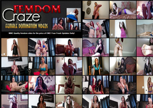 One of the best paid porn sites for femdom sex videos.