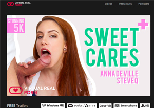 Cheap pay porn site where you can watch VR sex videos.