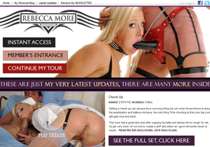 Fine pay adult site for Rebecca More fans.