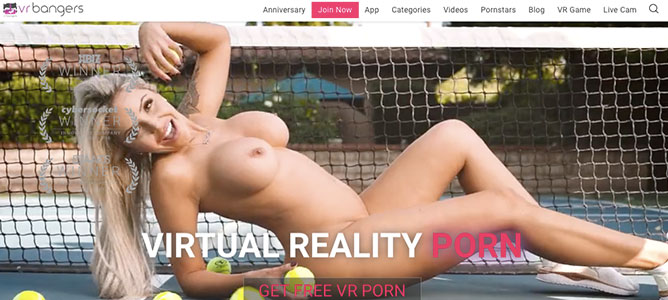 Nice adult site if you like stunning VR HD videos