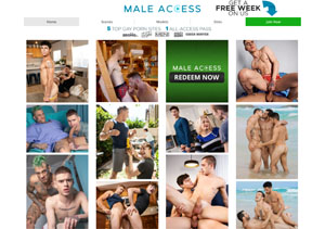 Popular gay porn site with membership with high-quality xxx content.