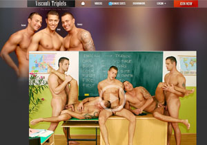 Top rated gay pay porn site with threesome videos.