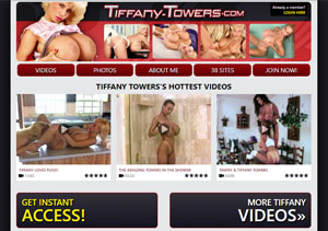 Top pay porn site for Tiffany Towers fans.