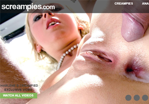 Good pay adult site for creampie videos.