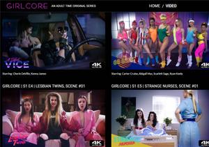 Popular porn pay website for lesbian sex videos.