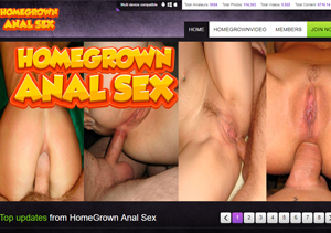 Anal video site