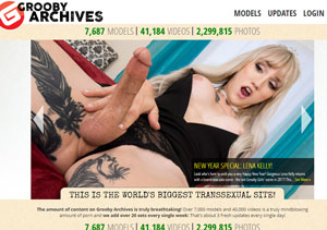 Popular paid porn site with awesome tranny content.