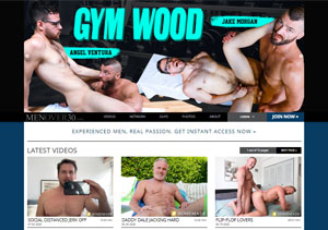 Nice gay pay porn site for older men in wild action.